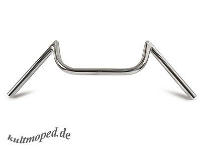 Moped Handlebars M (with tüv-part OPINION) Chrome Handlebar S50,S51,S70 Top NEW