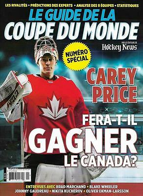 2016 World Cup of Hockey Special Edition FRENCH Canada Russia USA Czech Sweden