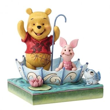 Disney Traditions 50 Years of Friendship (Winnie the Pooh & Piglet Figurine) New