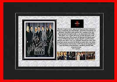 Boston Legal Tv Mounted Display