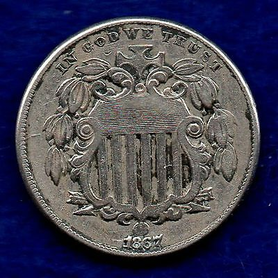 USA, 1867 5 Cents (Ref. c5701)