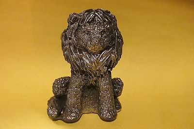 Pewter Lion Figurine Unique And Heavy