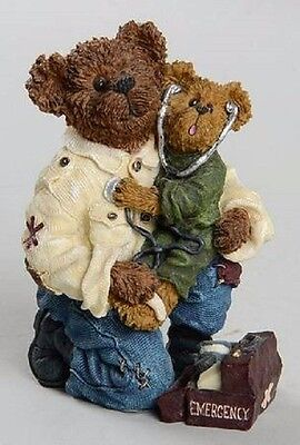 Boyds Collection, NIB, E.M.T. Bearsley with Carey...To the Rescue, 2nd ed # 614