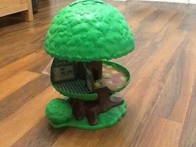 Vintage Palitoy Kenner Tree House With Dog And Kennel