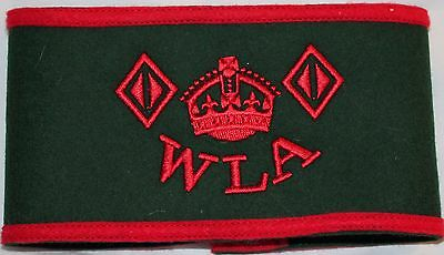 WLA Armband, Home front, WW2, 1940's, Women's Land Army, Land Girls