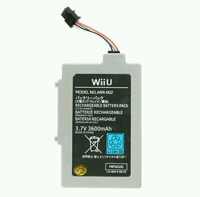 3600mAh 3.7V Rechargeable Battery for Nintendo Wii U Gamepad