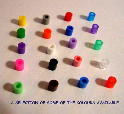 100 Plastic Closed Rings For Finches & Canaries ~Best On E Bay~ In Great Colours