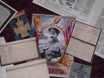 Robert Quigg  Victoria Cross Collecters Bundle Uvf 36Th Ulster Division Somme
