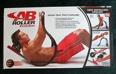 AB ROLLER Evolution-NEW-NEW IMPROVED DESIGN-WORKS YOUR CORE INSTANTLY