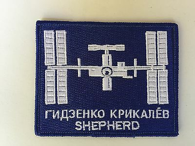 Aufnäher Patch ISS Expedition 1 Shepherd