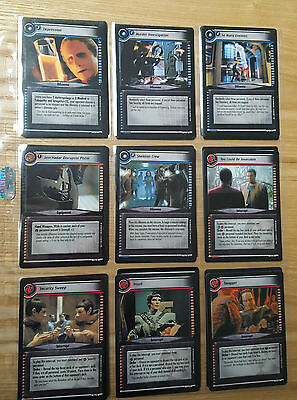 Star Trek TNG Customizable Card Game Black Boarder 197 Cards 1995 MINT #68