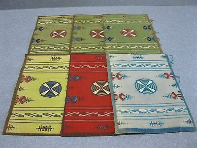 Lot Of 6 Tobacco/cigar/felts/flannel Blankets