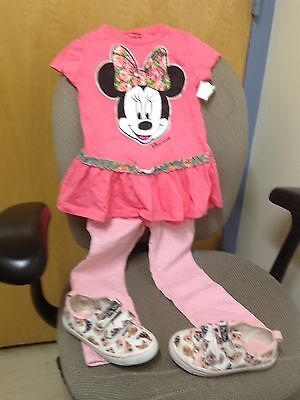 Minnie Mouse Multi Colored Disney 4t Shirt