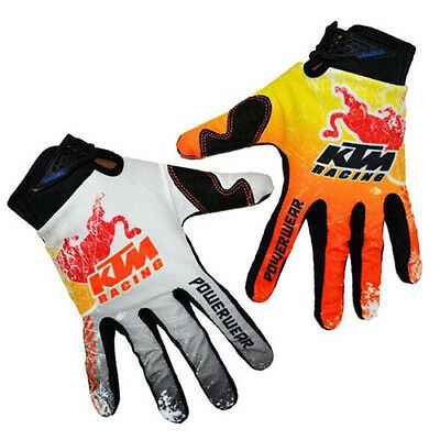 KTM Red Bull Enduro Motocross Motorcycle Gloves Off-road