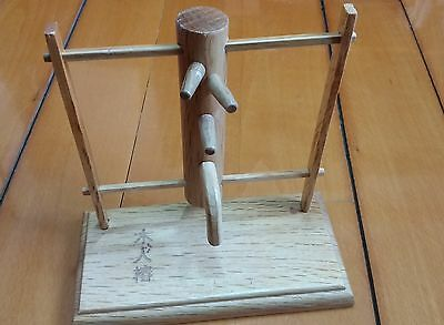 Frame Combined Wing Chun wooden dummy Wood crafts model
