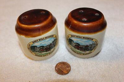 Collectible Souvenir Salt and Pepper Shakers from Boot Hill in Dodge City