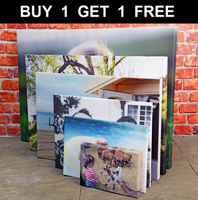 Your Photo Picture on Canvas Print A0 A1 A2 A3 A4 A5 Box Framed Ready to Hang..