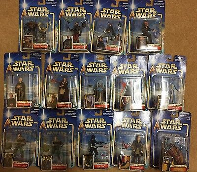 Cheap Joblot Wholesale Hasbro Collection 2 Star Wars Figures Collectors NEW BNWT