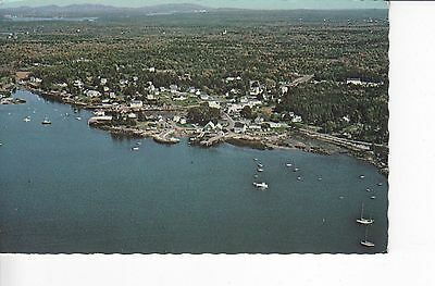 Aerial View: Port Clyde, Maine