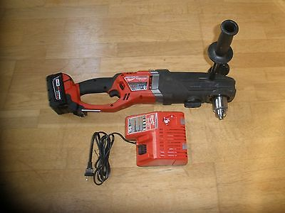 """Milwaukee 2709-20 1/2"""" Right Angle Super Hawg Drill M18 Fuel 18V Cordless"""