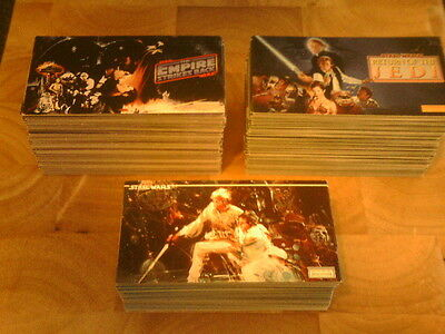 Topps STAR WARS / ESB / ROTJ - Widevision Trading Cards - Pick 20 from my list.