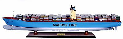 """EMMA MAERSK Container Ship Model 41"""" Handcrafted Wooden Ship Model NEW"""