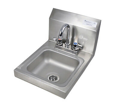 BK Resources BKHS-D-SS-P-G Wall Mount Space Saver Hand Sink