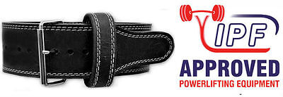 Powerlifting Single Prong 13mm Power Belt (M) - titan pioneer inzer gym weight