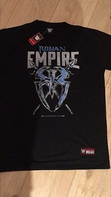 "ROMAN  REIGNS ROMAN EMPIRE T-SHIRT - BRAND NEW SIZE LARGE ( 36"" - 38""  chest )"