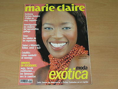 Naomi Campbell Marie Claire Spain 1997 Cover Ines Sastre