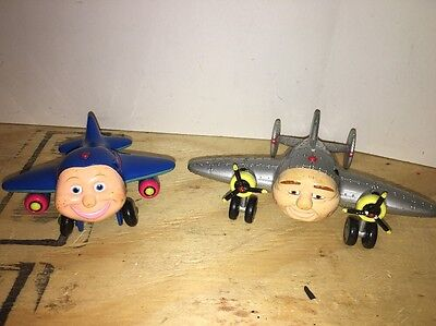 VTG Toy Island JAY JAY The Jet Plane Airplanes PBS Kids Terrytown Airport 2002