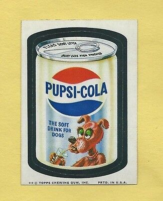 Wacky Packages Series 10 Pupsi Cola Sharp
