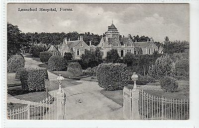 LEANCHOIL HOSPITAL, FORRES: Morayshire postcard (C23002)