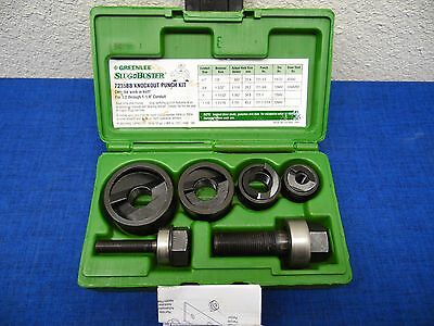NEW GREENLEE Slug Buster Manual Knockout Kit for 1/2 to 1-1/4 Conduit 7235BB