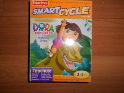 Fisher Price  Smart Cycle  DORA the Explorer ~ Featuring DIEGO ~ 3-5 Years ~ NEW