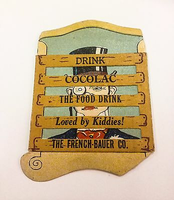 Vintage French-Bauer Co. Dairy - Cocolac Advertising Premium - 1890-1915