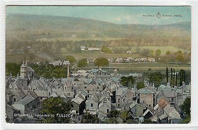 DINGWALL LOOKING TO TULLOCH: Ross-shire postcard (C23742)