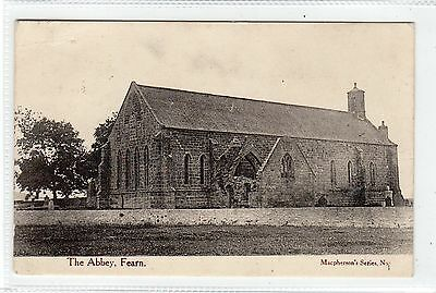 THE ABBEY, FEARN: Ross-shire postcard (C23766)