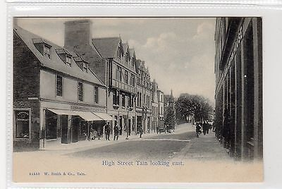 HIGH STREET, TAIN: Ross-shire postcard (C23781)