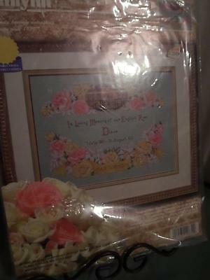 Counted Cross Stitch Kit ~ Janlynn ~ OUR ENGLISH ROSE #106-32 (PRINCESS DIANA)