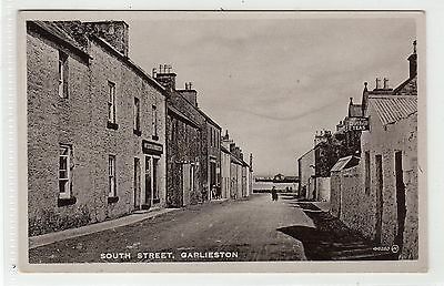 SOUTH STREET, GARLIESTON: Wigtownshire postcard (C23170)