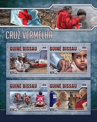 Z08 GB16509a GUINEA-BISSAU 2016 Red Cross MNH
