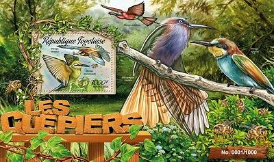 Z08 TG16201b TOGO 2016 Bee-eaters MNH