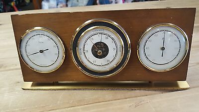 Mid Century West Germany Desk Top Weather Station Stormoguide