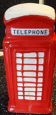 Latex Craft Mould To Make British Telephone Box Ornament or Candle