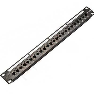 Cat 6 24 Port 19″ Patch Panel