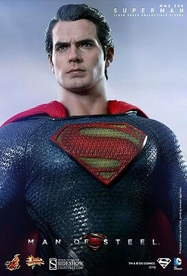 The Man of Steel: Superman Sixth Scale Figure sideshow - hot toys - Henry cavill