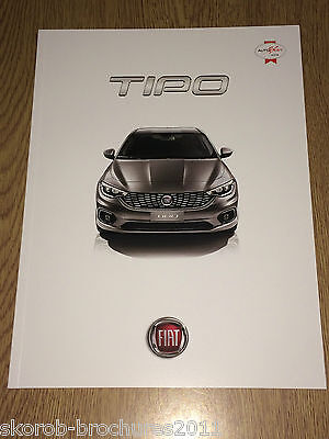 FIAT -  The New  Tipo Full Sales Brochure 9/2016