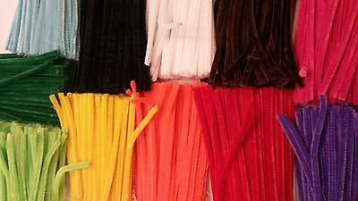 Craft Pipe Cleaners, Chenille Stems, Limpia Pipas, Pack of 100