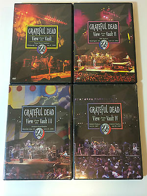Grateful Dead Official Release - View From The Vault All Volumes DVDs $145